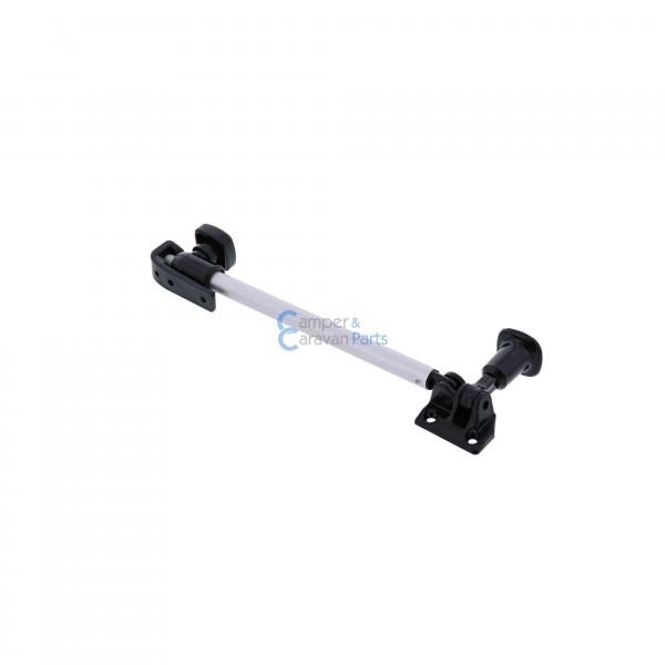 Polyplastic 200 Serie - schroef | Raamuitzetters buis zwart incl. grendel