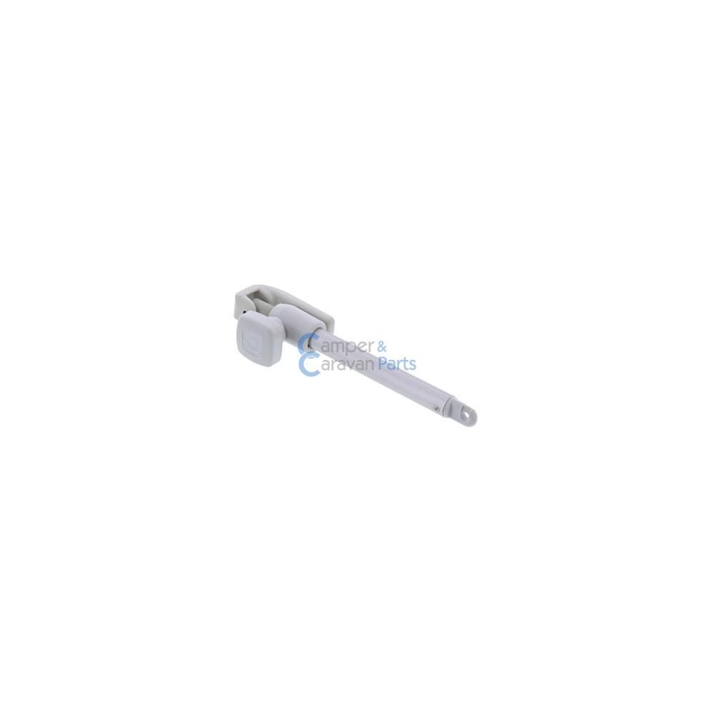 Polyplastic 100 t/m 300 Serie | Raamuitzetters buis grijs excl. grendel/montagevoet -