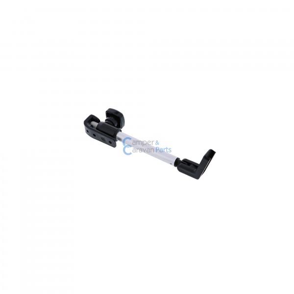 Polyplastic 400 Serie - polyfix | Raamuitzetters buis zwart incl. montagevoet
