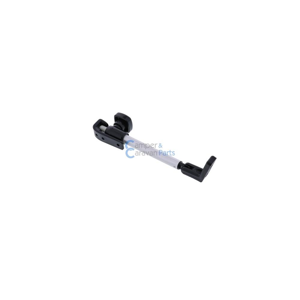 Polyplastic 300 Serie - schroef   Raamuitzetters buis zwart incl. montagevoet -