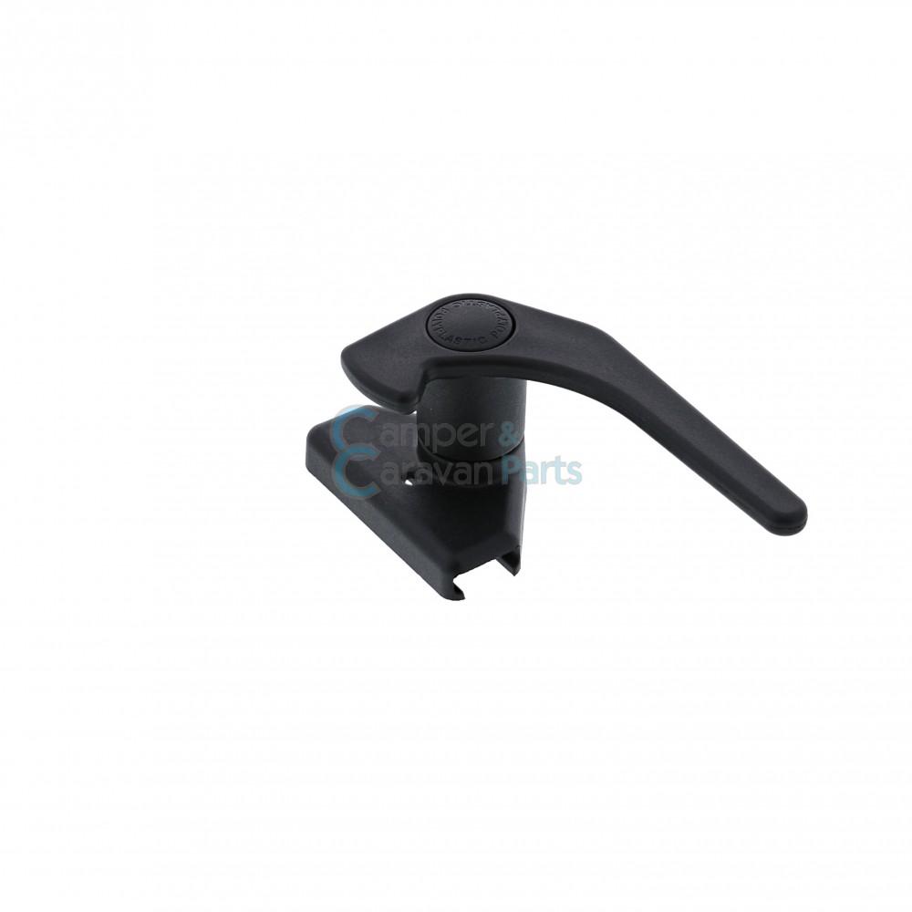 Polyplastic raamgrendel polyfix ''Polylock'' zwart -