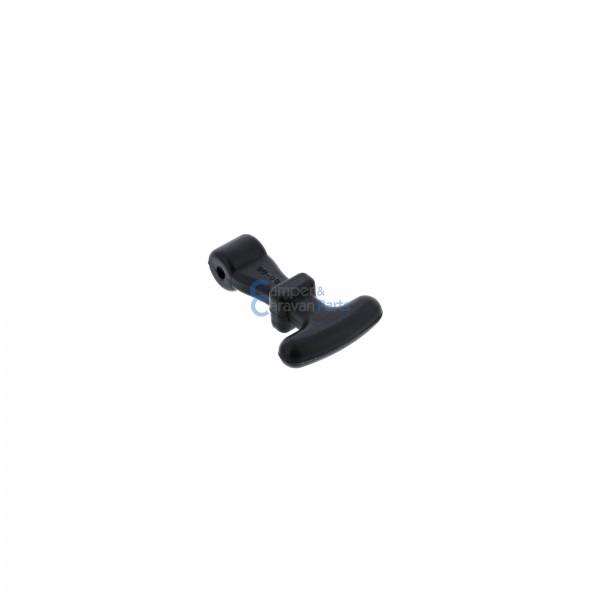 Polyplastic aantrekrubber zwart lang voor 200 Serie -