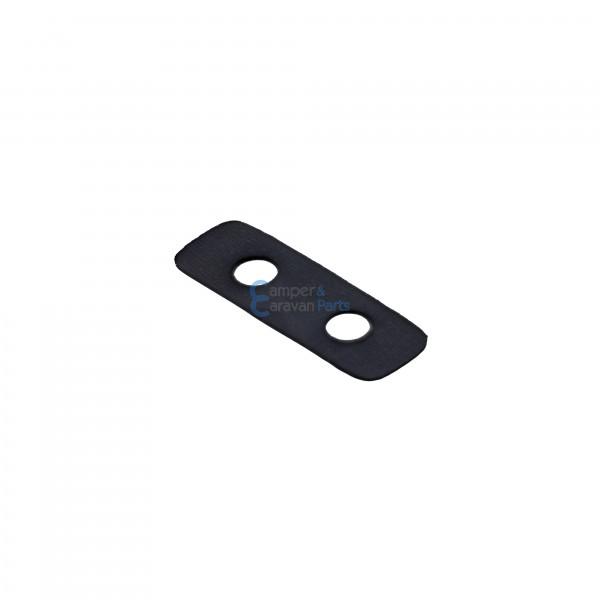 Polyplastic rubber montageplaatje ''300 Serie'' zwart