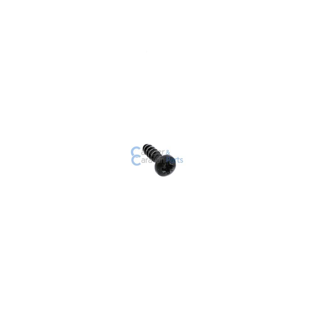 Polyplastic schroef zwart -