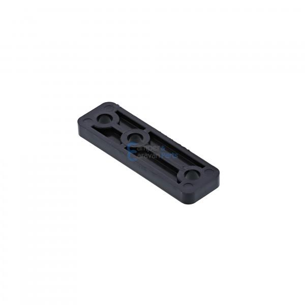 Polyplastic opvulplaatje ''300/400 Serie'' zwart