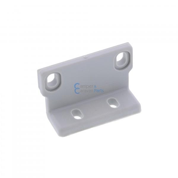 Polyplastic vastzetplaatje grijs -