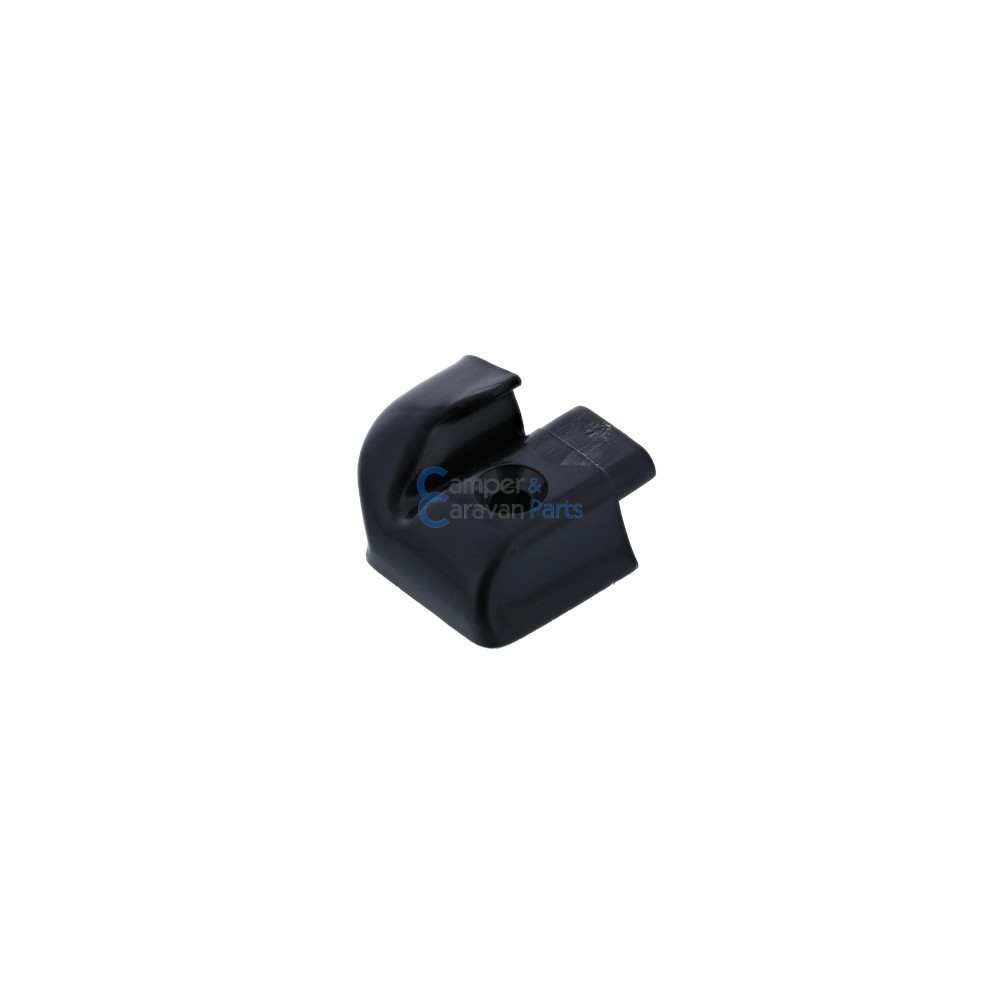 Polyplastic eindkapjes sierlijst (zonder markieslijst) zwart -