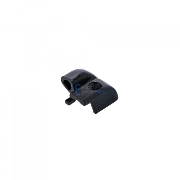 Polyplastic eindkapjes schuiflijst (zonder markieslijst) zwart