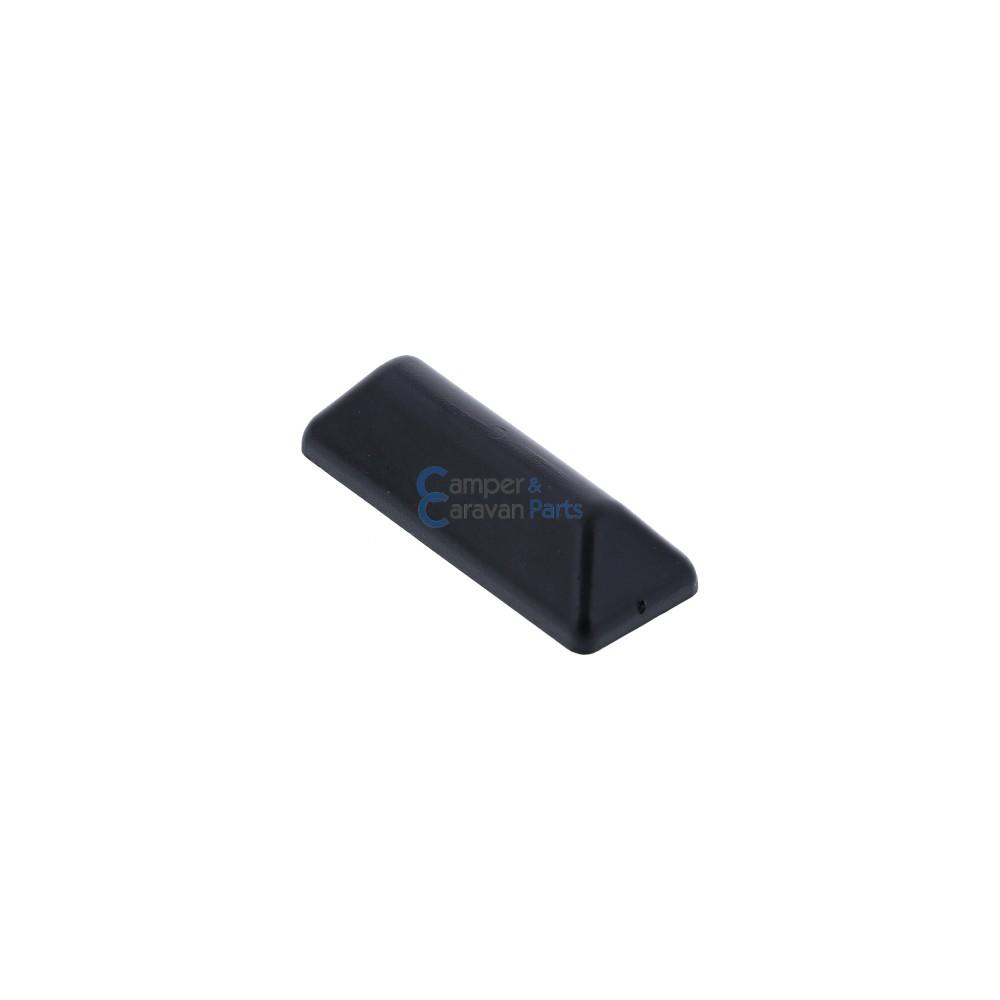 Polyplastic buitenkapje zwart - 10 mm - 40 mm - Ø 26 mm -