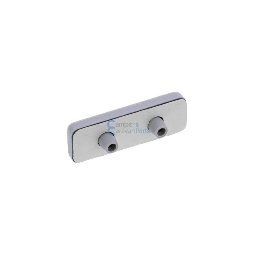 Polyplastic buitenkapje grijs - 5 mm - 44 mm -  Ø 20 mm -