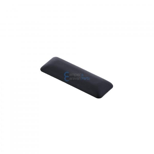 Polyplastic buitenkapje zwart - 7 mm - 45 mm - Ø 20 mm -