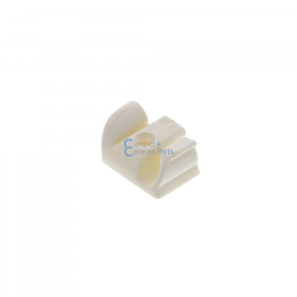 Polyplastic eindkapjes schuiflijst (met markieslijst) wit