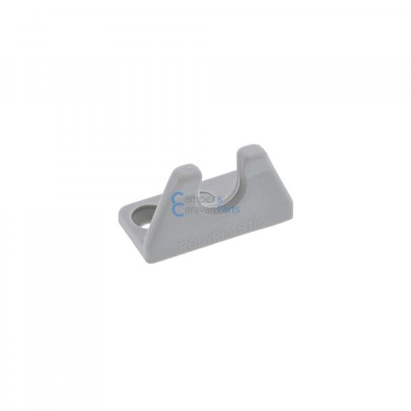 Polyplastic slotplaatje ''100/200 Serie'' grijs
