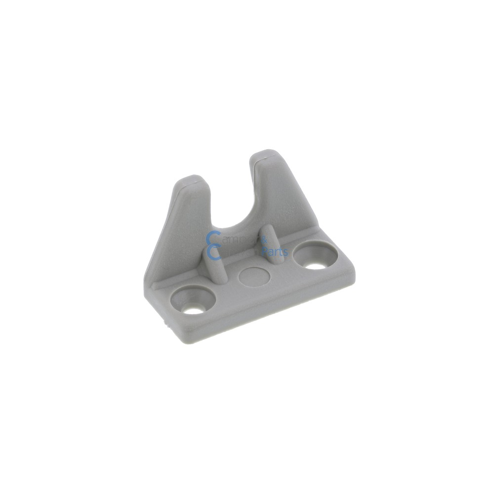 Polyplastic slotplaatje grijs - 25 mm - 36 mm - Ø 26 mm -