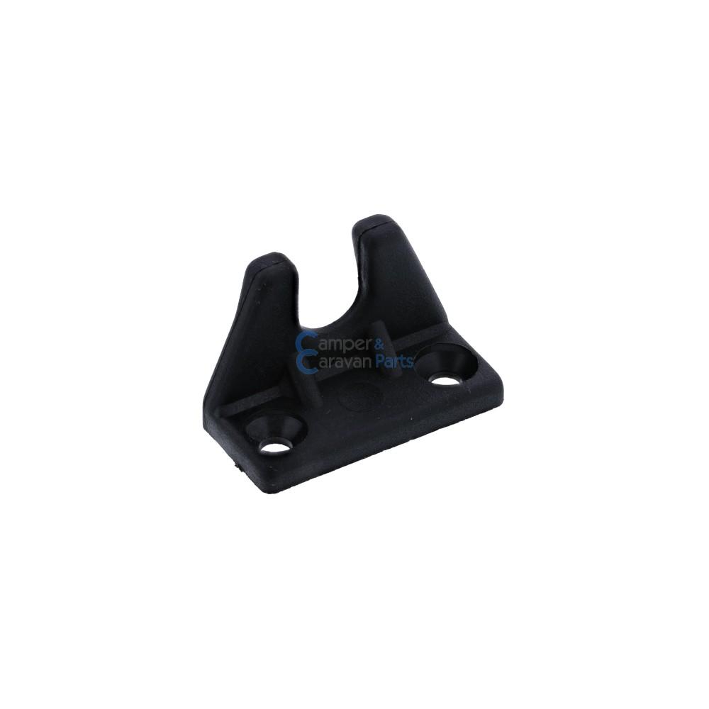 Polyplastic slotplaatje zwart - 25 mm - 36 mm - Ø 26 mm -