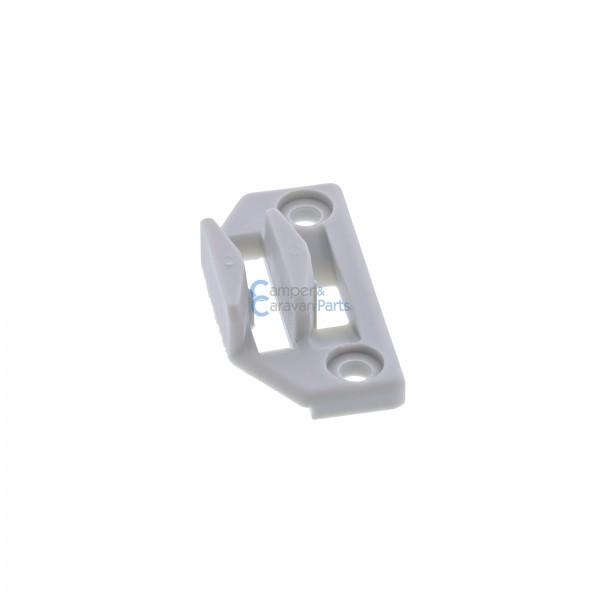 Polyplastic slotplaatje grijs ''Type 1''