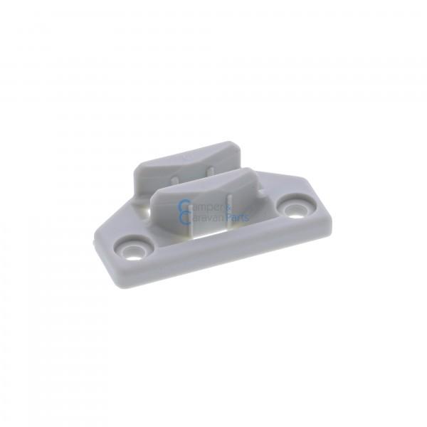 Polyplastic slotplaatje grijs - 12,4 mm - 50 mm - Ø 37,5 mm -