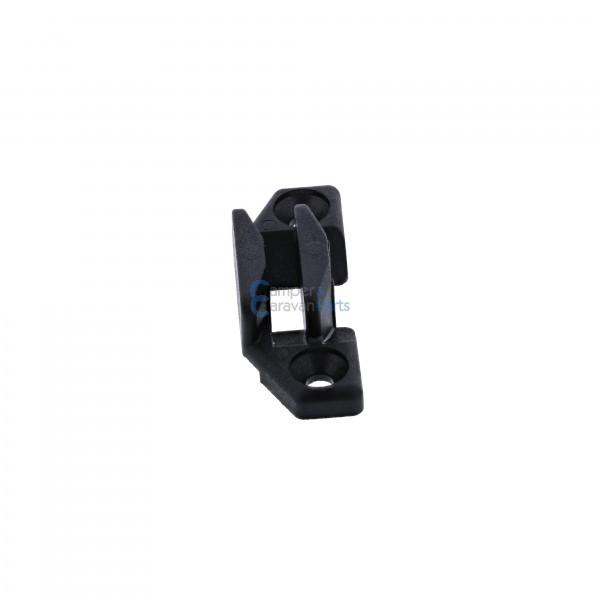 Polyplastic slotplaatje zwart ''Type 2''