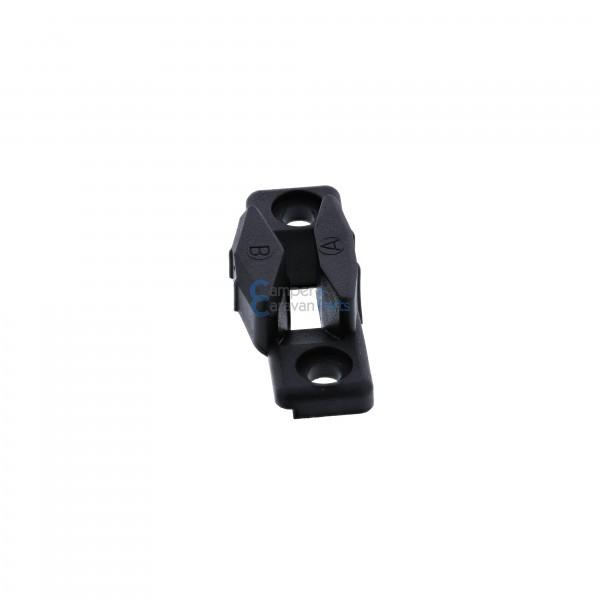 Polyplastic slotplaatje polyfix zwart ''Type 3''
