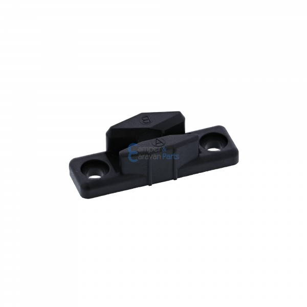 Polyplastic slotplaatje polyfix zwart - 13 mm - 50 mm - Ø 37,5 mm -