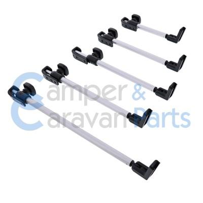 Polyplastic 400 Serie - polyfix | Raamuitzetters buis zwart incl. montagevoet -