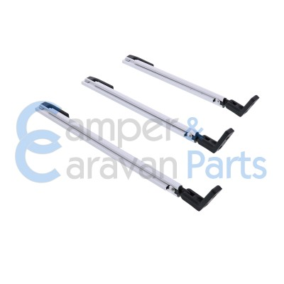 Polyplastic 300 Serie - schroef | Raamuitzetters klik zwart incl. montagevoet