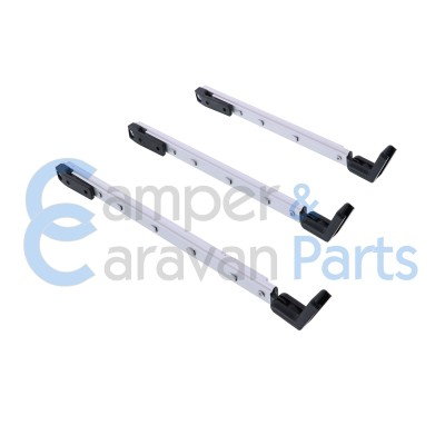 Polyplastic 400 Serie - polyfix | Raamuitzetters klik zwart incl. montagevoet -