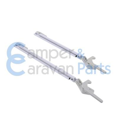 Polyplastic 300 Serie - schroef | Raamuitzetters klik grijs incl. grendel