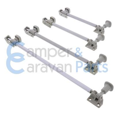 Polyplastic 200 Serie - schroef | Raamuitzetters buis grijs incl. grendel -