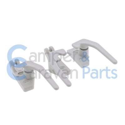 Polyplastic 300 Serie | Raamgrendels schroef grijs -