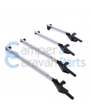 Para Press 400 Serie | Raamuitzetters klik aluminium incl. grendel met schuin schot