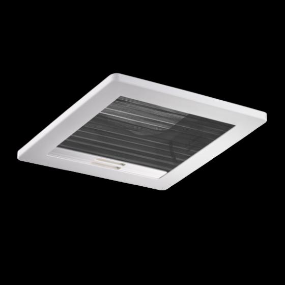 Dometic Micro Heki - Dakraam met geforceerde ventilatie met rolgordijn en insectenhor