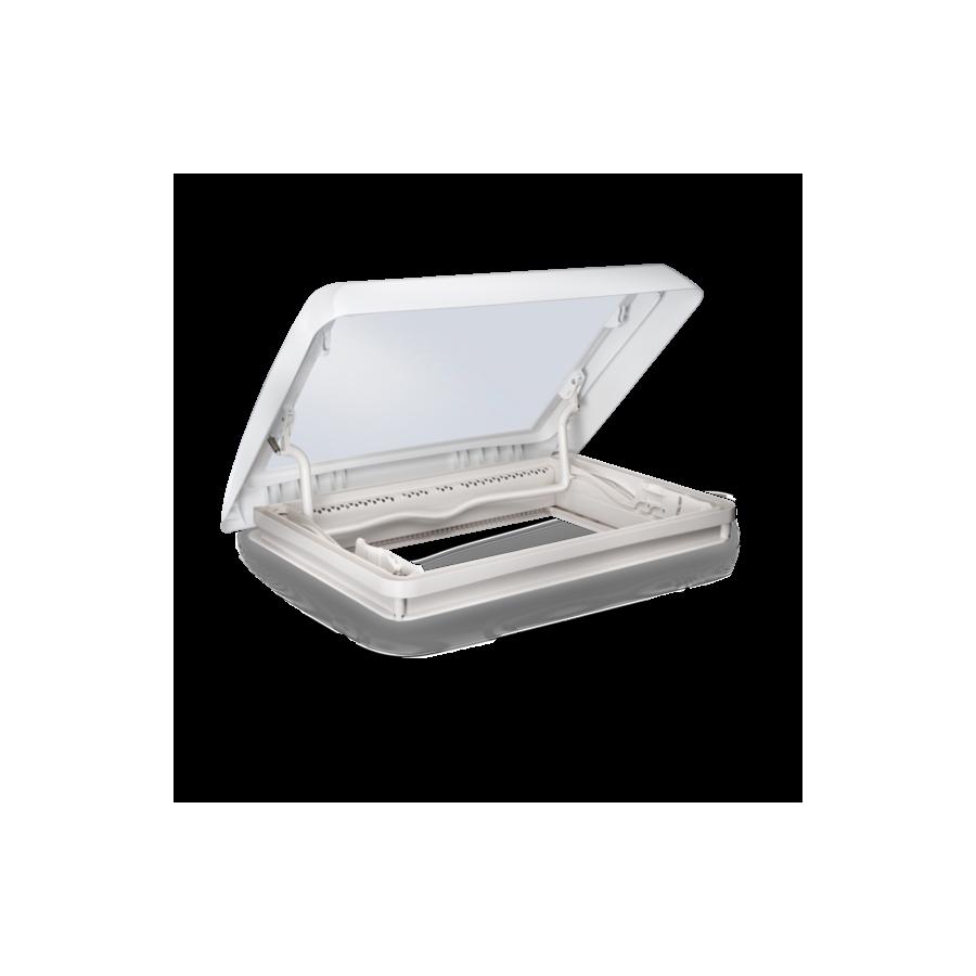 Dometic Midi Heki Style - Dakraam wit met beugel en met geforceerde ventilatie -