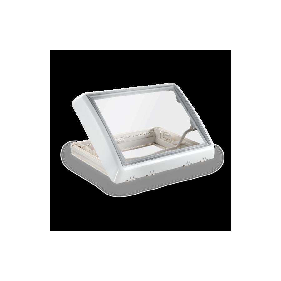 Dometic Midi Heki Style - Dakraam wit met slinger en met geforceerde ventilatie -