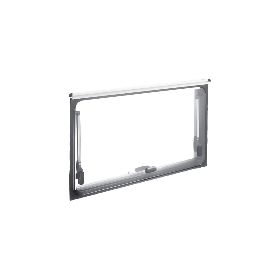 Dometic S4 los glas 1600 x 550 mm privacy zwart -