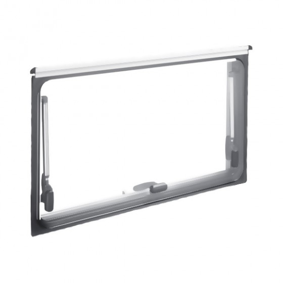 Dometic S4 los glas 500 x 450 mm privacy zwart -