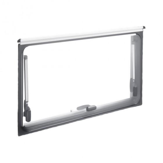 Dometic S4 los glas 700 x 300 mm privacy zwart -