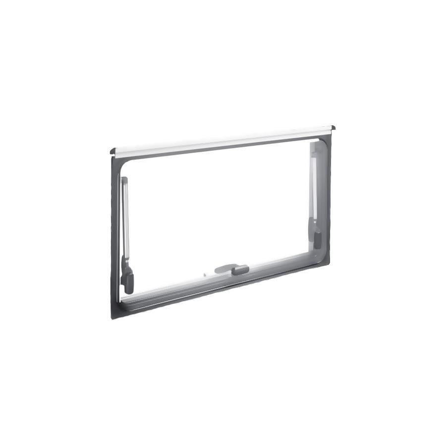 Dometic S4 los glas 800 x 450 mm privacy zwart -